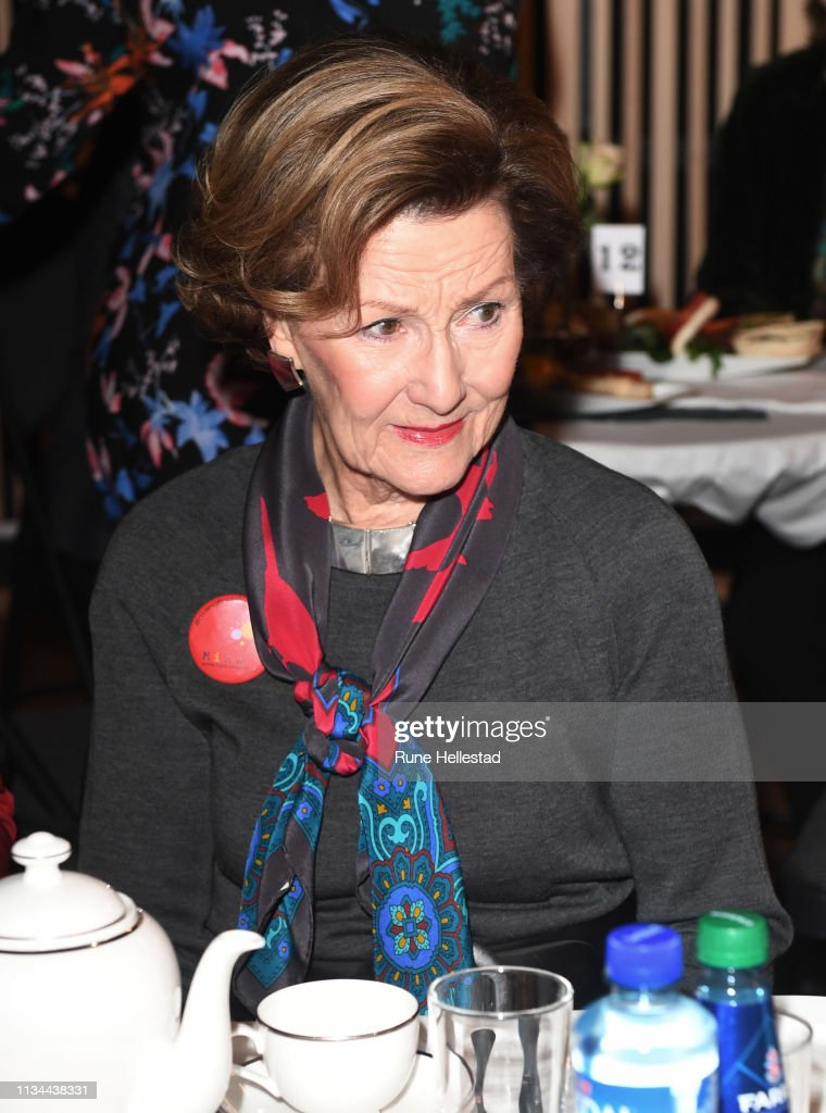 Queen Sonja Of Norway Attends The Empowerment Breakfast With Minority Women : News Photo
