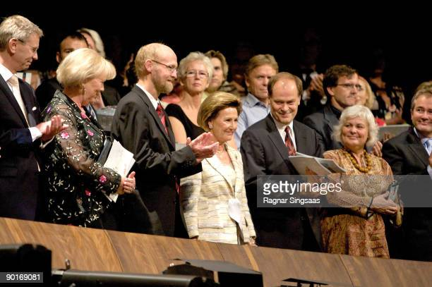 Queen Sonja of Norway attends the final of the Queen Sonja International Music Competition on August 28, 2009 in Oslo, Norway.