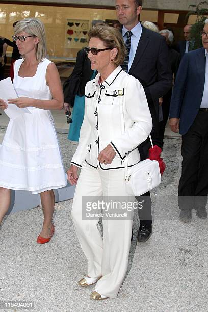 HM Queen Sonja Of Norway attends the Opening of the Collectors Exhibition at the Danish Nordic Pavilions during the 53rd International Art Exhibition...