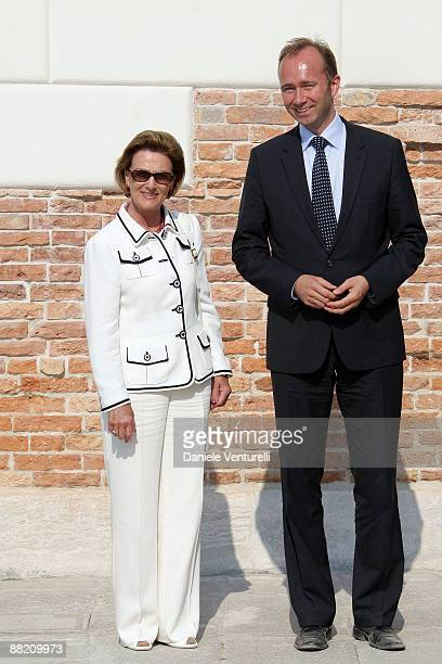 Queen Sonja of Norway attends the opening of the New Contemporary Art Centre on June 4 2009 in Venice Italy