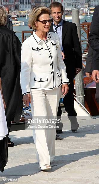 Queen Sonja of Norway attends the opening of the new Contemporary Art Centre Francois Pinault Foundation on June 4 2009 in Venice Italy