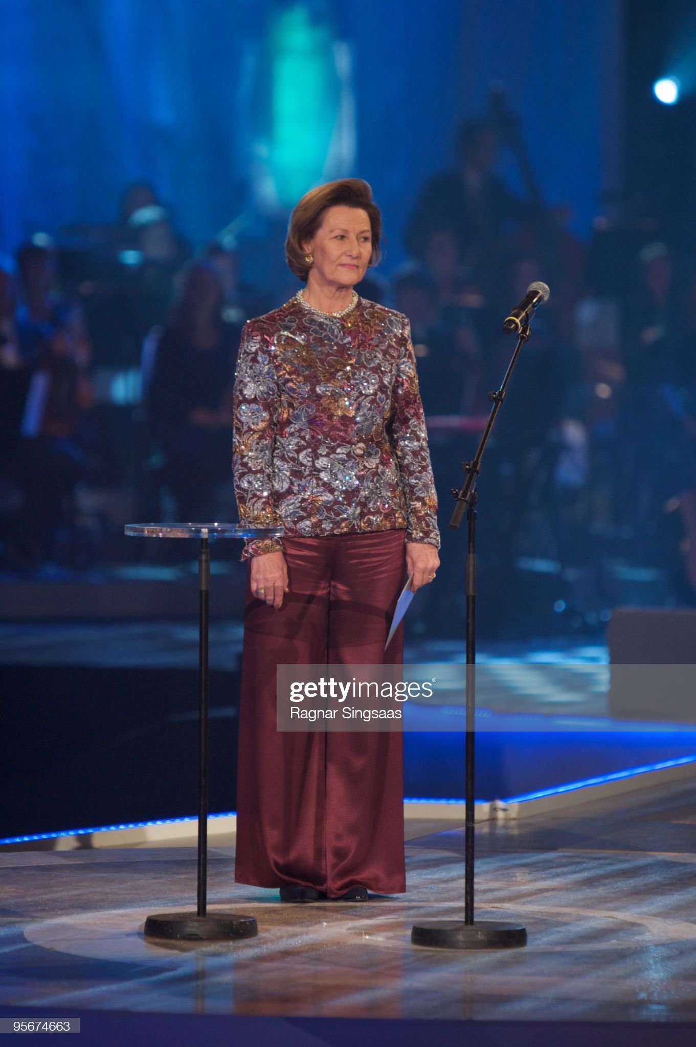 Queen Sonja Attends The Sports Gala : News Photo