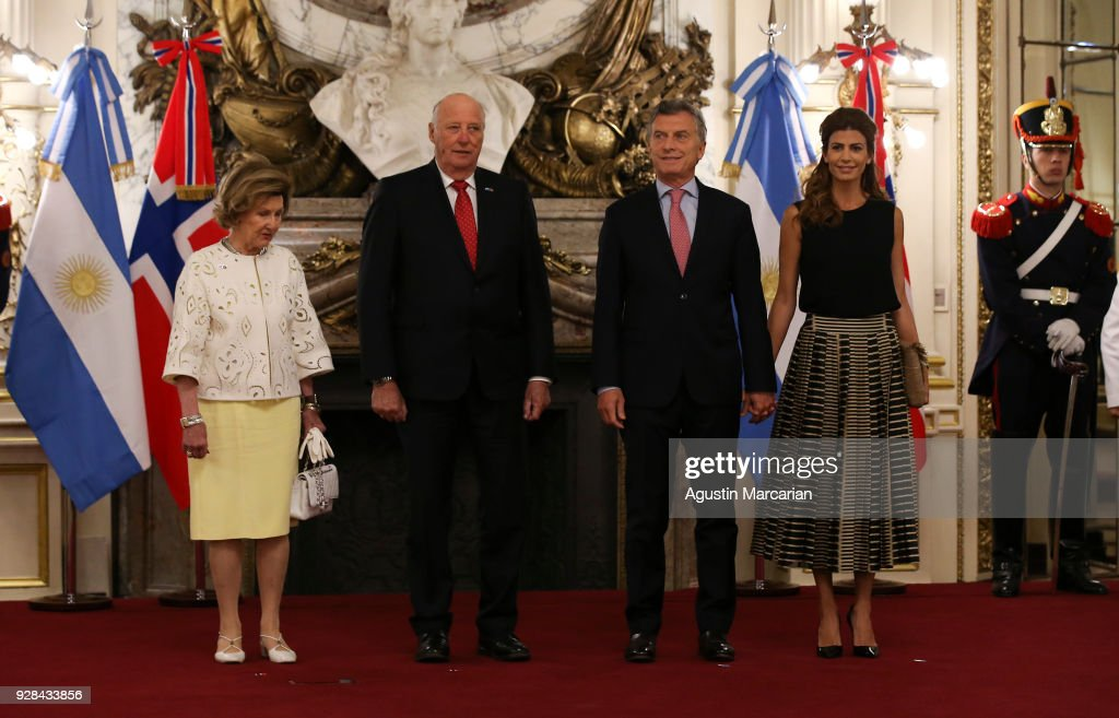 Day 1 - Queen Sonjia and King Harald State Visit to Argentina
