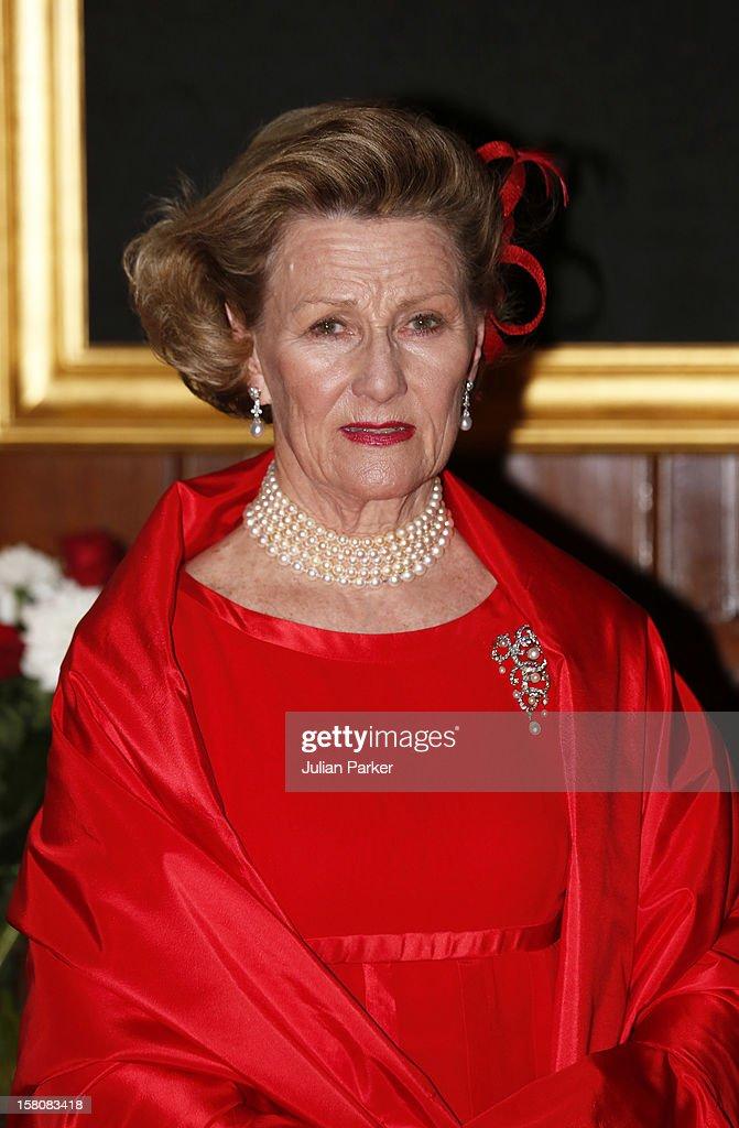 Norwegian Royals Leave Ambassador'S Residence In London : News Photo