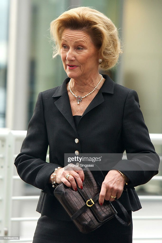 Queen Sonja Of Norway Officially Opens The Astrup Fearnley Museum In Oslo : News Photo