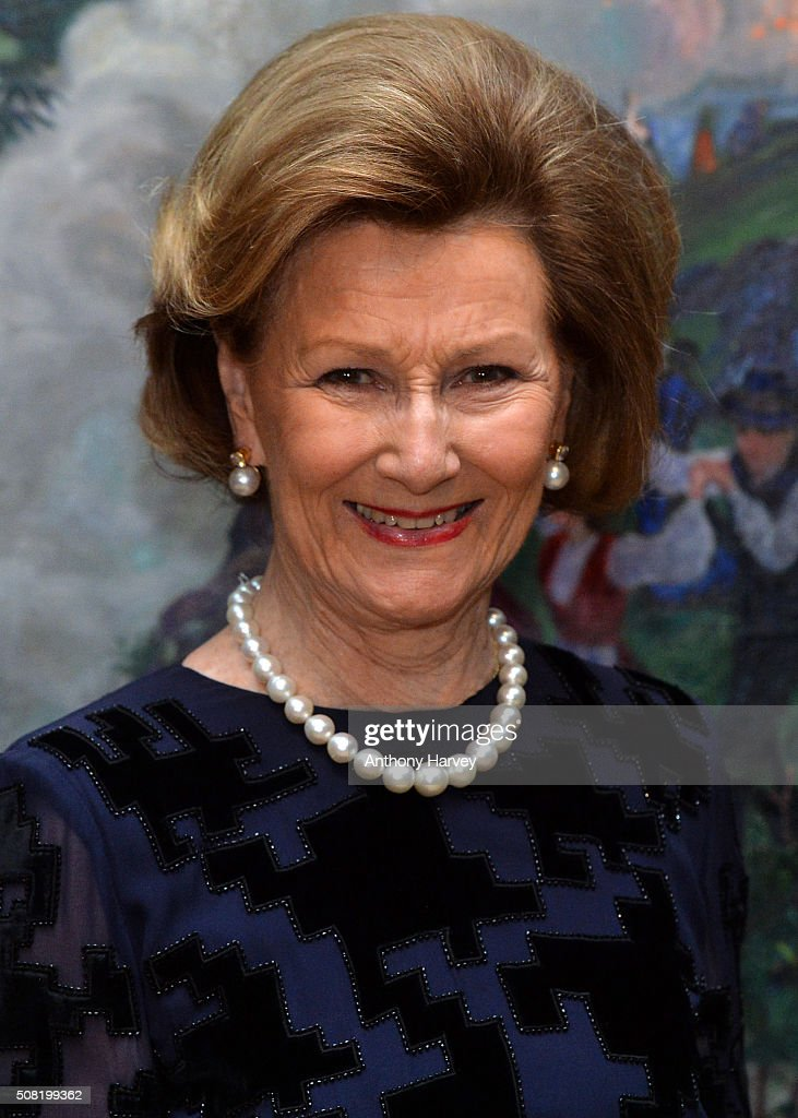 Queen Sonja of Norway Opens Nikolai Astrup: Painting Norway Exhibition