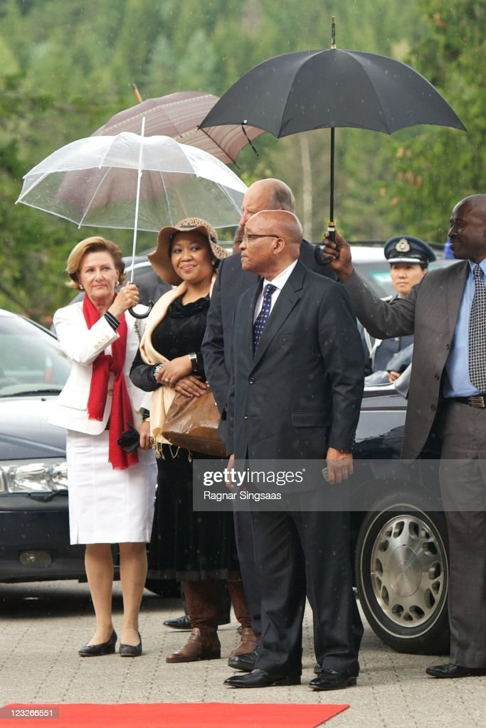 Norwegian Royals Host State Visit From South Africa - Day 2