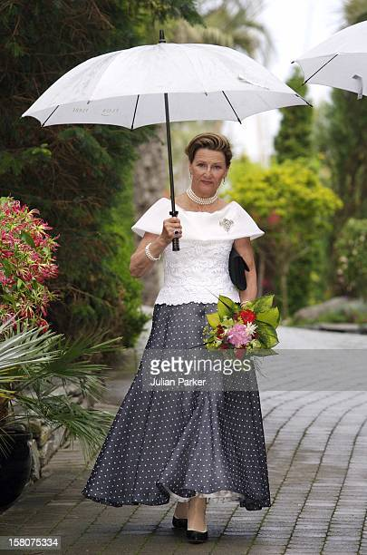 Queen Sonja Of Norway'S 70Th Birthday CelebrationsDinner At 'Flor Og Fjaere' On The Island Of Sor Hidle