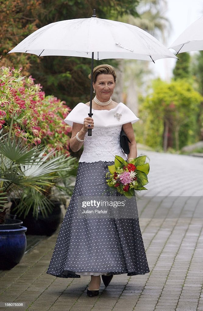 Queen Sonja Of Norway'S 70Th Birthday Celebrations : ニュース写真