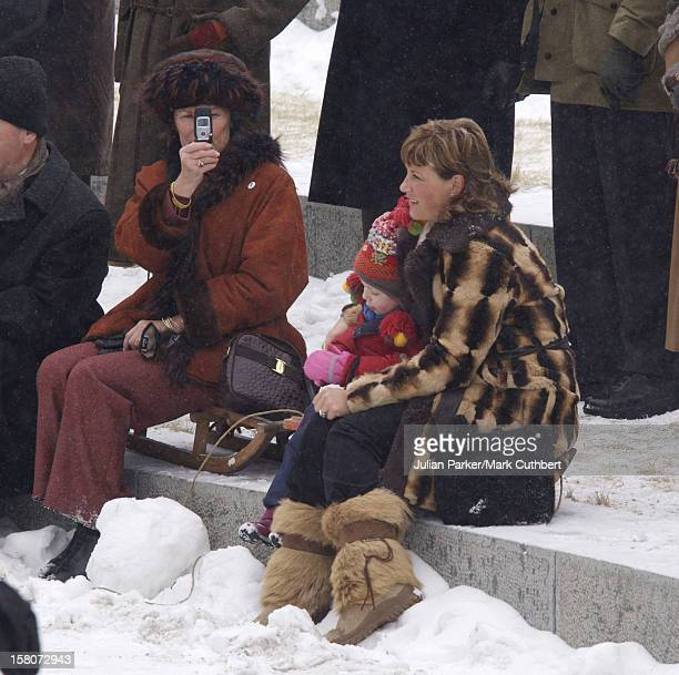 Queen Sonja Princess Martha Louise Daughter Maud Angelica Attend King Harald Of Norway'S 70Th Birthday Celebrations In OsloVisit To The Norwegian...