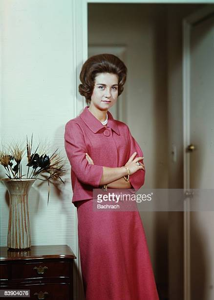 Queen Sophia of Spain the former princess Sophia of Greece and Denmark is the current wife of King Juan Carlos of Spain 1962 New York