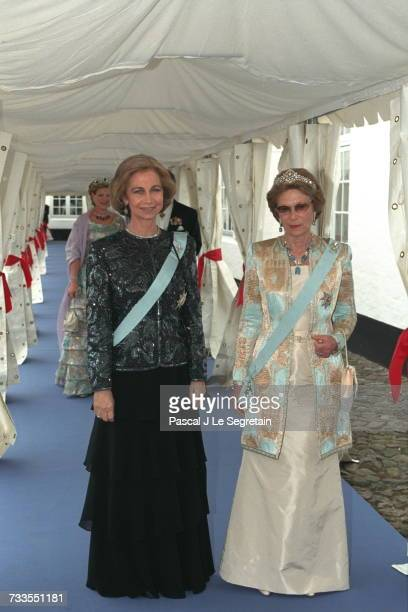 Queen Sophie and Grand Duchess JosephineCharlotte of Luxembourg