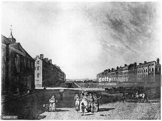 Queen Square Bloomsbury London 1787 Queen Square was laid out between 1716 and 1725 A print from The History of the Squares of London Topographical...