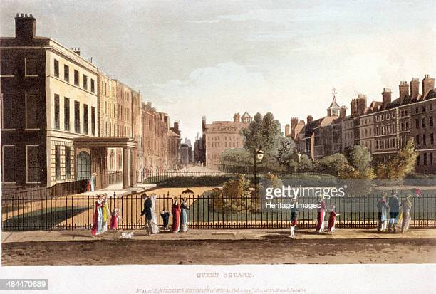 Queen Square Holborn Camden London 1812
