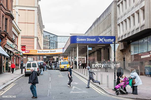 Queen Street Rail and Buchanan St Subway Stations, Glasgow