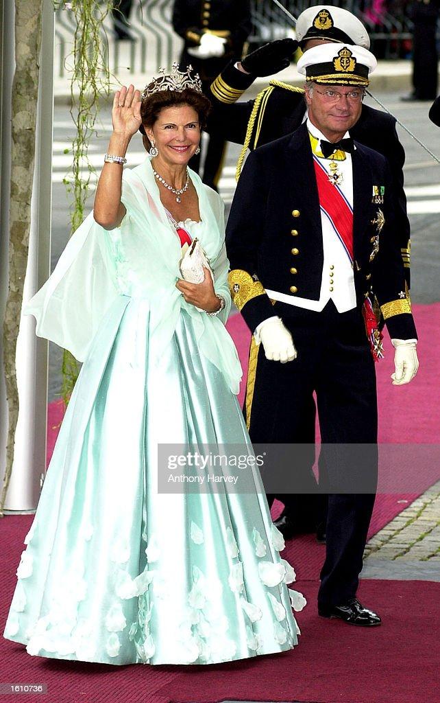 Norwegian Royal Wedding : News Photo