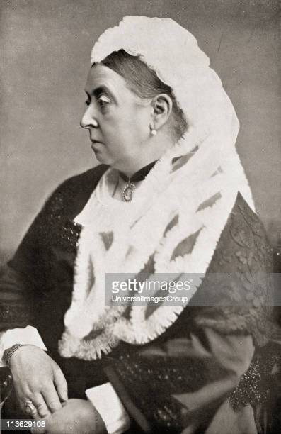 Queen Victoria 18191901 at the age of sixty six From the book VRI Her Life and Empire by The Marquis of Lorne KT now his grace The Duke of Argyll