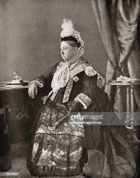 Queen Victoria 18191901 in the dress worn by her at the jubilee service 1887 From the book VRI Her Life and Empire by The Marquis of Lorne KT now his...