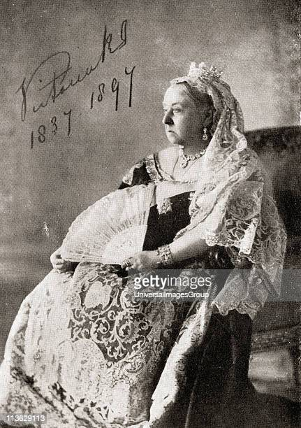 Queen Victoria 18191901 The authorised Diamond Jubilee photograph in 1897 From the book VRI Her Life and Empire by The Marquis of Lorne KT now his...