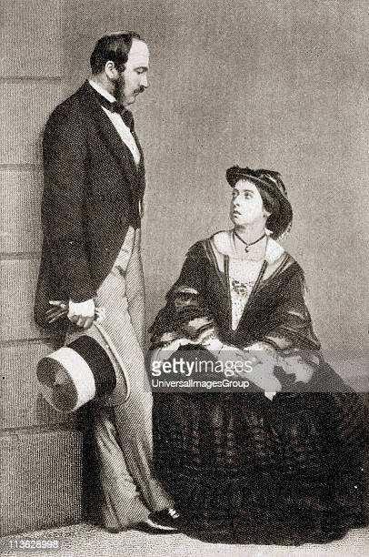Queen Victoria 18191901 with HRH The Prince Consort 18191861 in 1860 From the book VRI Her Life and Empire by The Marquis of Lorne KT now his grace...