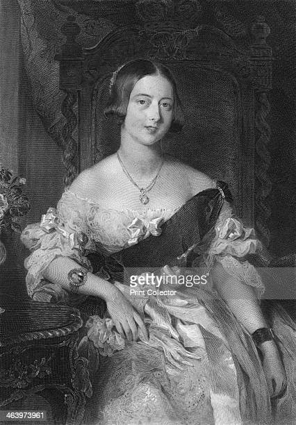 Queen Victoria 1851 From Biographical Sketches of the Queens of Great Britain from the Norman Conquest to the Reign of Victoria or Royal Book of...