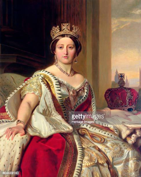 Queen Victoria 1859 Victoria succeeded her uncle William IV to the throne in 1837 Her reign the longest of any British monarch to date saw the peak...