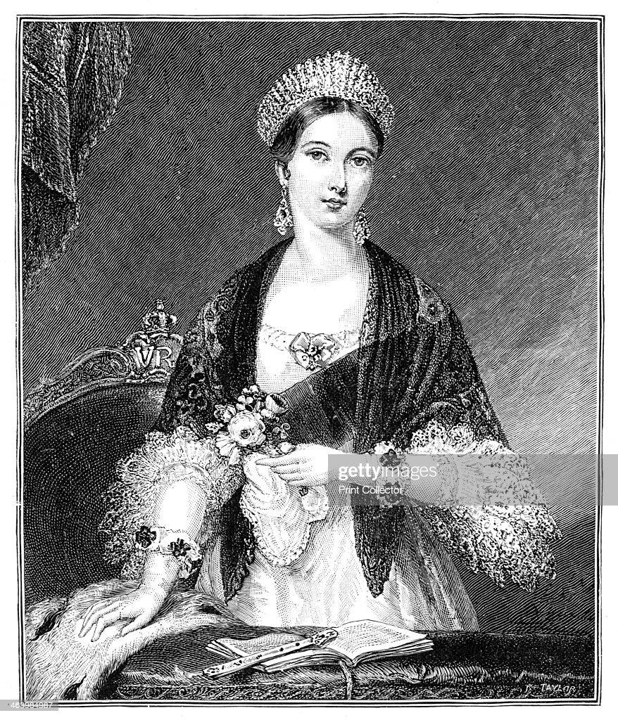 Queen Victoria, (1819-1901), 19th century. Artist: Taylor : News Photo
