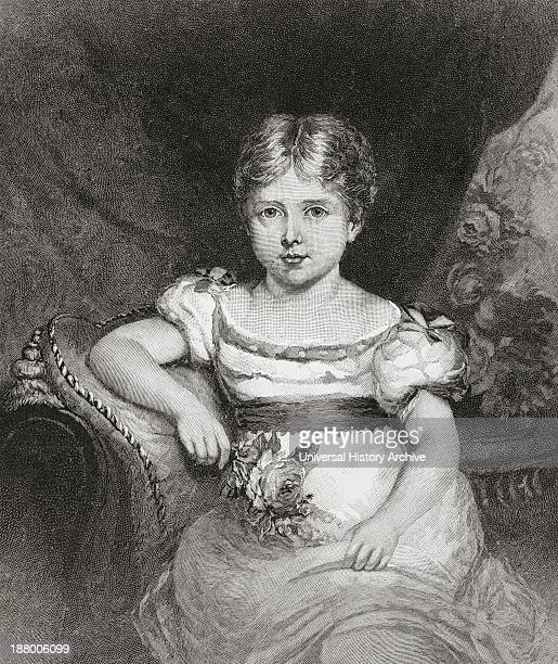 Queen Victoria Aged 6 1819 – 1901 Queen Of The United Kingdom And Ireland And Empress Of India From The Strand Magazine Published 1894
