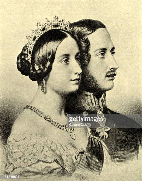 175 years since queen victoria married prince albert photos and images getty images. Black Bedroom Furniture Sets. Home Design Ideas