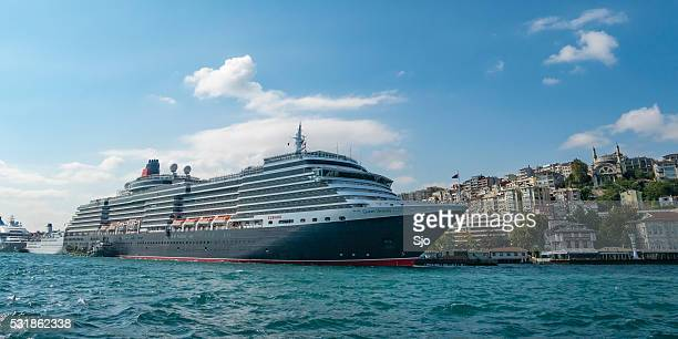 MS Queen Victoria cruise ship in Istanbul