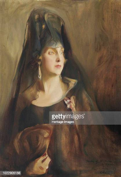 Queen Victoria Eugenie of Spain 1927 Private Collection