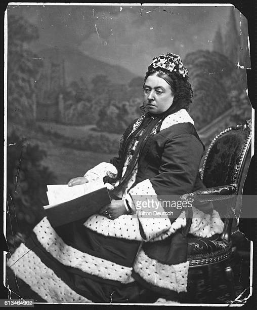 Queen Victoria In 1872 Aged 53