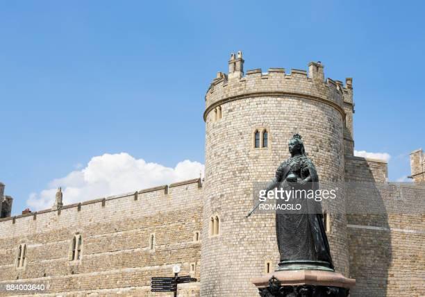 Queen Victoria monument at Windsor Castle, Windsor England