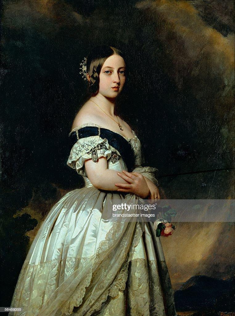 Queen Victoria of England : News Photo
