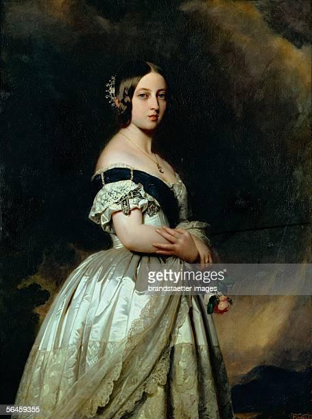 Queen Victoria of England 1842 Musee National du Chateau Versailles France [Koenigin Victoria von England 1842 Musee National du Chateau Versailles...