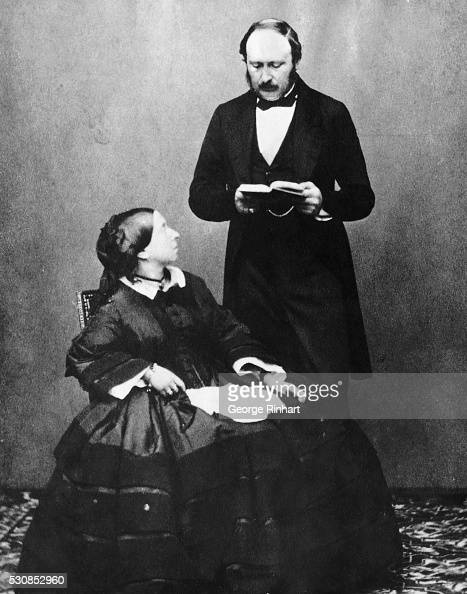 queen victoria and prince albert pictures getty images. Black Bedroom Furniture Sets. Home Design Ideas