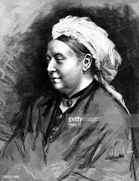 Queen Victoria of the United Kingdom Engraving