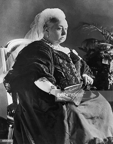 Queen Victoria, portrait (B&W)