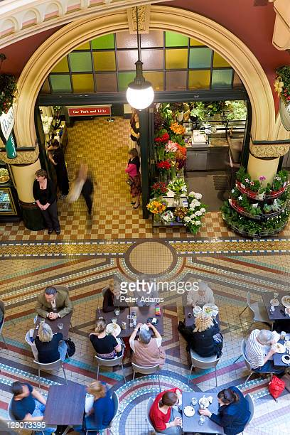 queen victoria shopping centre, syndey, australia - peter adams stock pictures, royalty-free photos & images