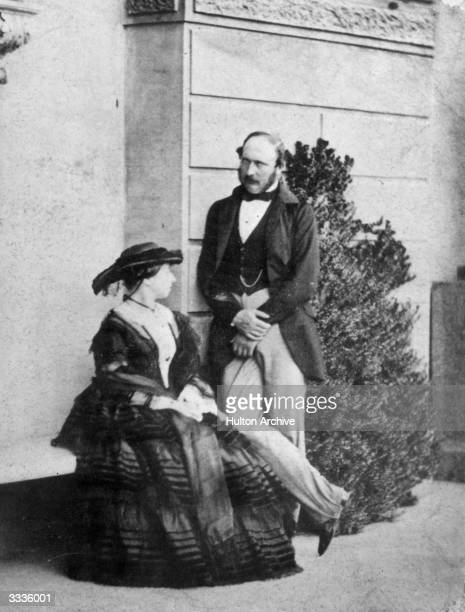Queen Victoria with Prince Albert the Prince Consort