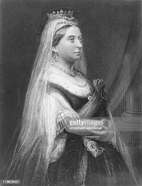Queen Victoria18191901 Princess Alexandrina Victoria of SaxeCoburg Queen of Great Britain and Ireland and Empress of IndiaEngraved by E StodartFrom...