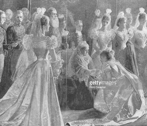 Queen Victoria's Diamond Jubilee DrawingRoom at Buckingham Palace May 11 1897' 60th anniversary of the accession to the throne of Victoria The...