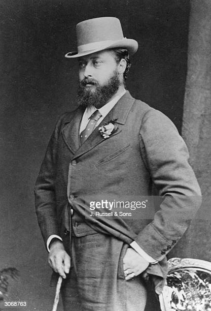 Queen Victoria's son, Albert Edward, Prince of Wales . .