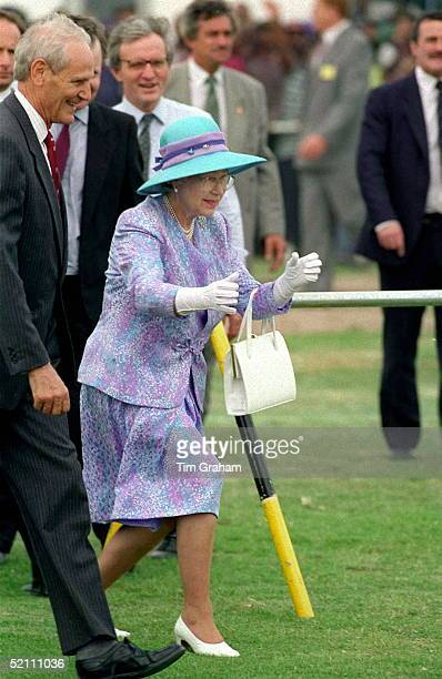 Queen Visits Langa Cricket Club In South Africa And Takes Stance To Stop Young Boy Crashing Into Her