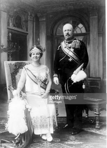 Queen Wilhelmina of Holland and her Consort Prince Henry