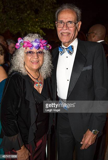 Queenie Thompson and Fiji's Ambassador to the United States Winston Thompson attend the 46th Annual Meridian Ball at Meridian International Center on...
