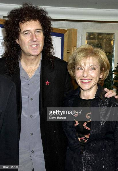 Queens Brian May With Freddie Mercury S Partner Mary