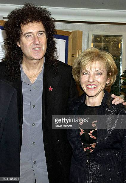 Queens Brian May With Freddie Mercury's Partner Mary Austin Sir Elton John And His Lontime Songwriting Partner Bernie Taupin Were Both Honoured By...