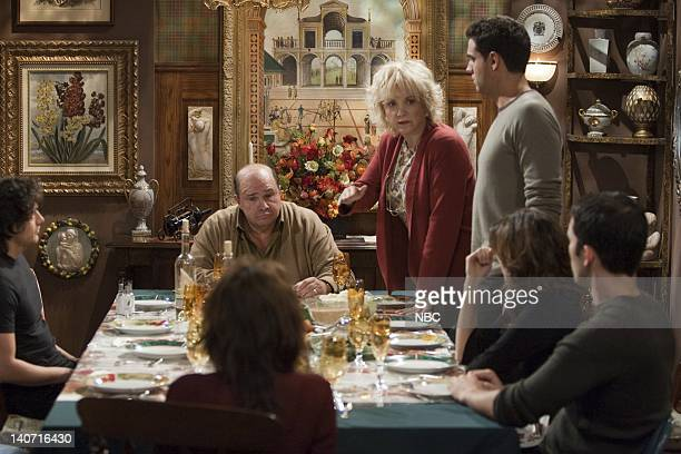WILL GRACE Queens for a Day Part 1 2 Episode 10 Pictured Josh Keaton as Salvatore Robert Costanzo as Paul Lee Garlington as Annette Bobby Cannavale...