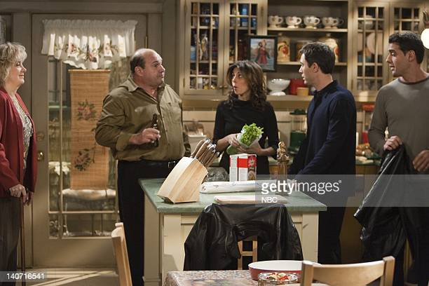 "Queens for a Day: Part 1 & 2"" Episode 10 -- Pictured: Lee Garlington as Annette, Robert Costanzo as Paul, Jamie-Lynn Sigler as Ro, Eric McCormack as..."
